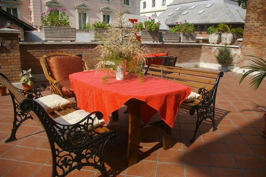 Residenza Villa Marignoli: La terrazza