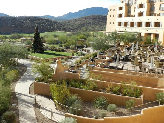 JW Marriott Starr Pass Resort & Spa: Patio Area