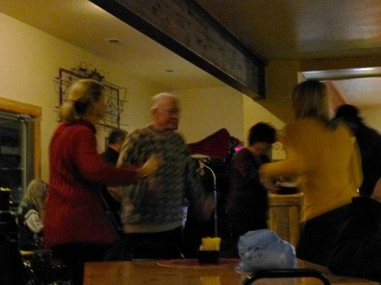 Marion, MT: Dancing to the live band