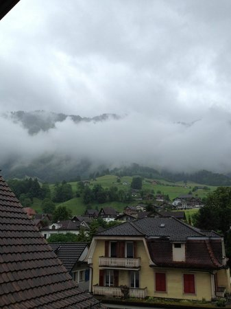 Stans, Schweiz: View from our hotel room