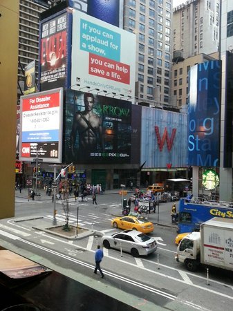 Times Square New Years Eve From Room In W Picture Of W