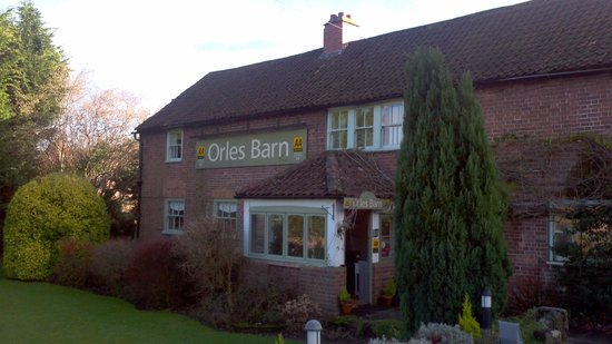 Orles Barn Hotel Restaurant: Christmas Day 2012 @ Orles Barn