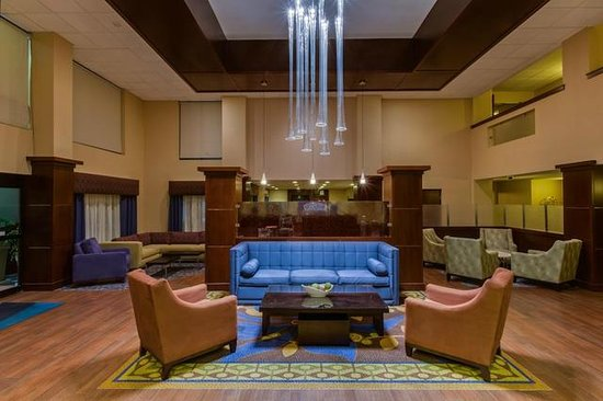 Holiday Inn Express Hotel & Suites Tampa Northwest - Oldsmar: Relax and unwind in the newly renovated lobby