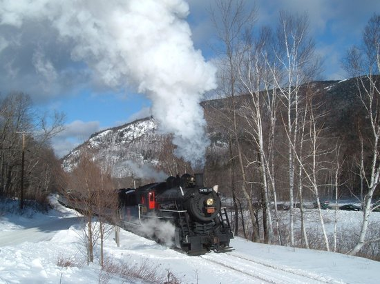 "The Notchland Inn: Memories of the past at Notchland- the ""Steam in the Snow"" special train"