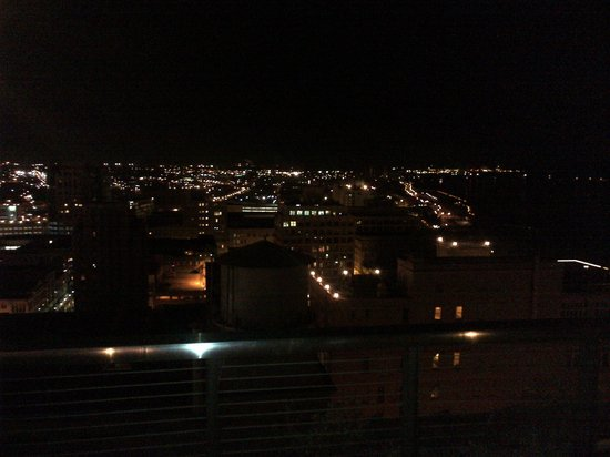Madison Hotel: View from the rooftop bar.