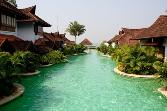 Infinity Pool Kumarakom Lake Resort Kerala India Picture Of Kumarakom Lake Resort