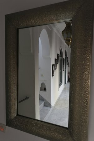 Riad Mirage: miroir