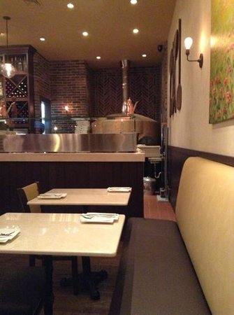 South Amboy, NJ: the oven and some tables