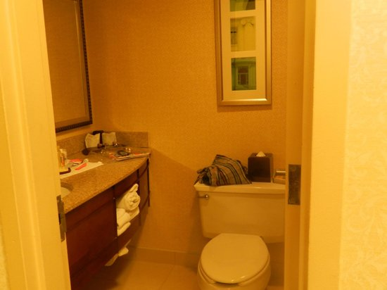 Key Bridge Marriott: Bathroom