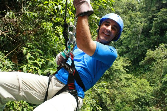The Springs Resort and Spa: Repelling -also known as canyoning
