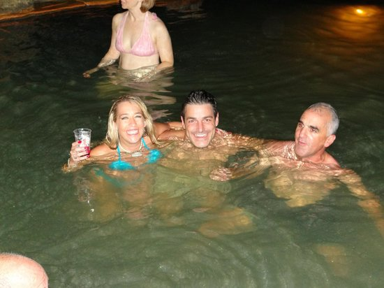 The Springs Resort and Spa: Chilling in one of the many pools.
