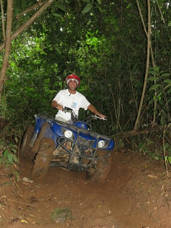The Springs Resort and Spa: ATV-ing
