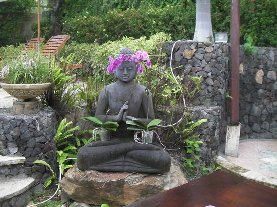 Jepun Bali Villa: The beautiful gardens