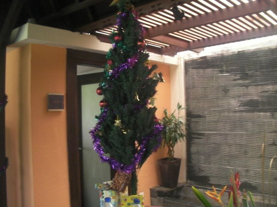 Villa di Abing: xmas tree
