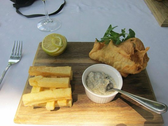 Budmarsh Country Lodge: Lunch presentation