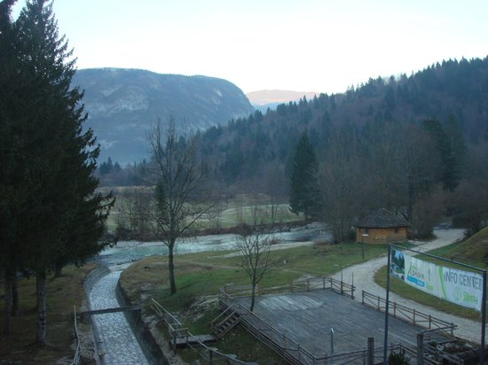 Jezero Hotel: view from balcony