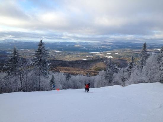 Newbury, NH : view from mount Sunapee