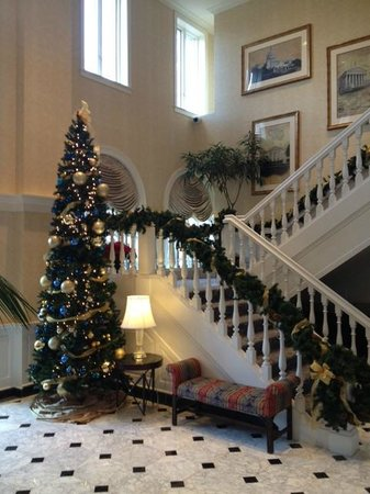 The Fairfax at Embassy Row, a Starwood Luxury Collection Hotel: The Fairfax at Christmas 2012