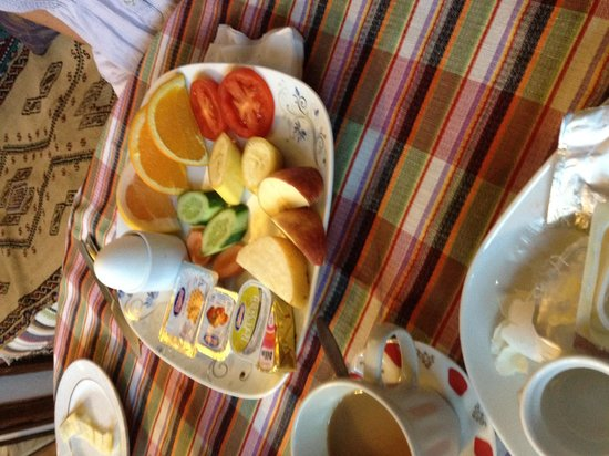 Homeros Pension & Guesthouse: Healthy breakfast