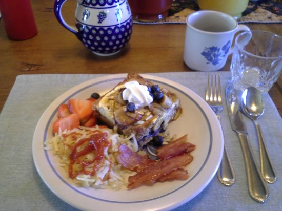 San Isabel Bed and Breakfast: Breakfast!