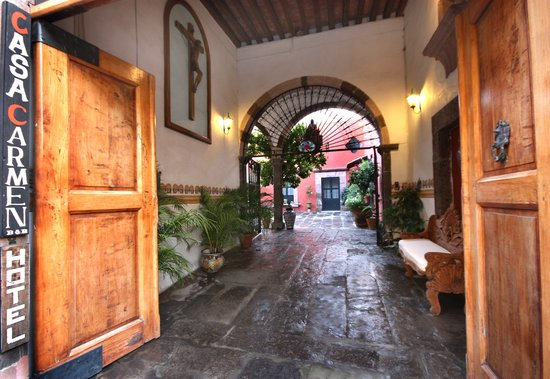 Entrance to Casa Carmen