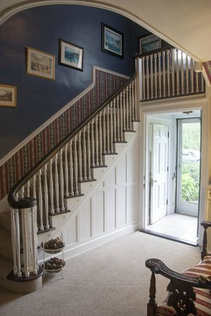 ‪‪Elizabeth House Bed and Breakfast‬: Escalier menant aux chambres