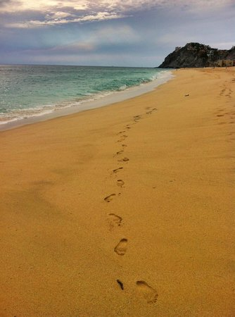 Grand Solmar Land's End Resort & Spa: my foot prints