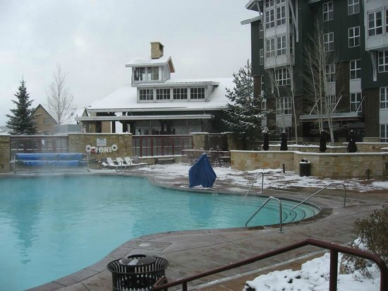Marriott's MountainSide: View of pool, plus they have 6 hottubs