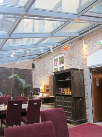Rex Hotel: Sala per la colazione