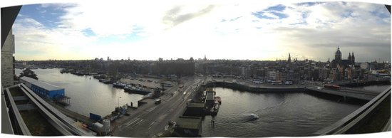 DoubleTree by Hilton Hotel Amsterdam Centraal Station: View from my king balcony
