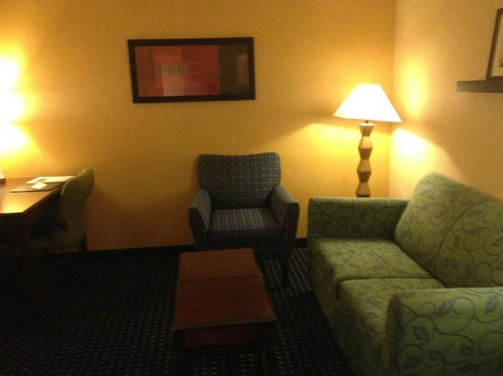 SpringHill Suites Denver Airport: living room/seating area