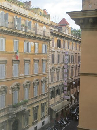The Westin Excelsior, Rome: View from the room