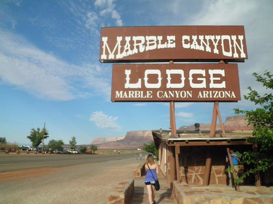 Marble Canyon Lodge: Lodge