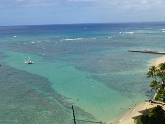 Sheraton Waikiki: View from room