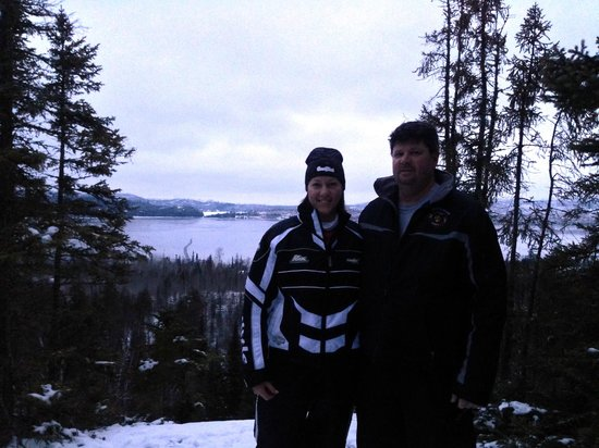 Gunflint Lodge: overlooking gunflint lake