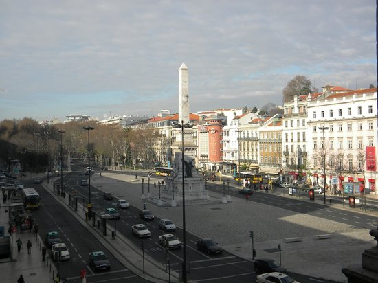 Hotel Avenida Palace: view from our room