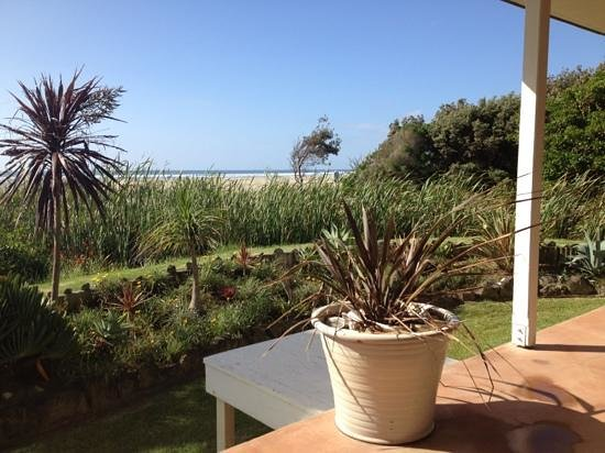 Ahipara, New Zealand: Aussicht Beach-Break Apartment