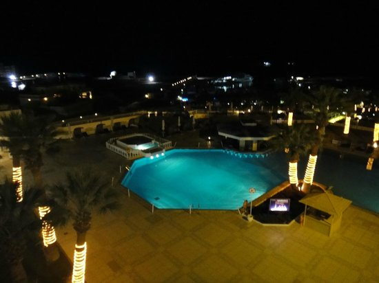 Hilton Hurghada Plaza: Pool View