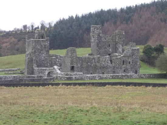 County Westmeath, Irland: Fore Abbey ruins