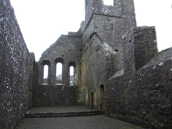 County Westmeath, Irland: The nave of Fore Abbey