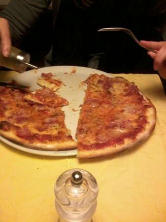 Wildhaus, Switzerland: Pizza