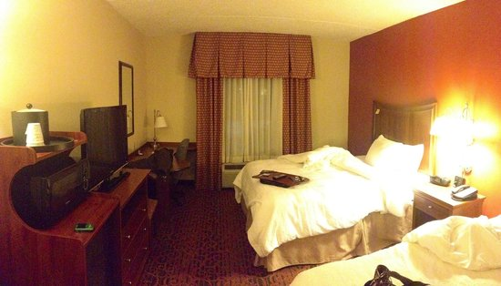 Hampton Inn Washington : Nicely furnished room.