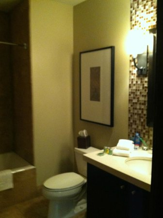 Tahoe Mountain Resorts Lodging One Village Place: guest bath