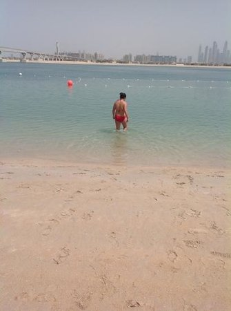 Atlantis, The Palm: me in the sea&lt;3