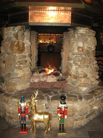 The Lodge at Gainesville: Great fireplace