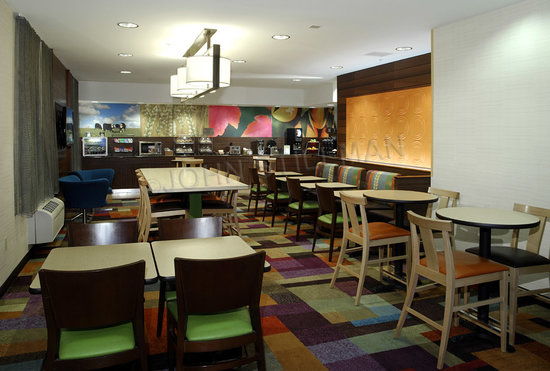 Fairfield Inn Kalamazoo West: Lobby Dining
