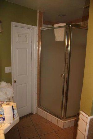 Sleepy Forest Cottages: Large Shower
