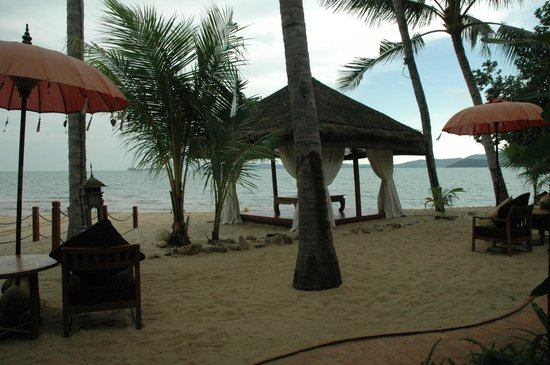 Zazen Boutique Resort & Spa: view from our beachfront room