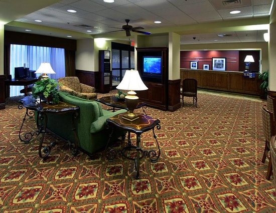 ‪‪Hampton Inn Troy‬: Lobby‬
