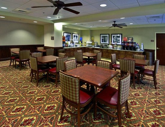 Hampton Inn Troy: Dining/Breakfast Area
